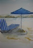 Kos beach umbrella
