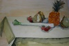 Vegs and fruits on table